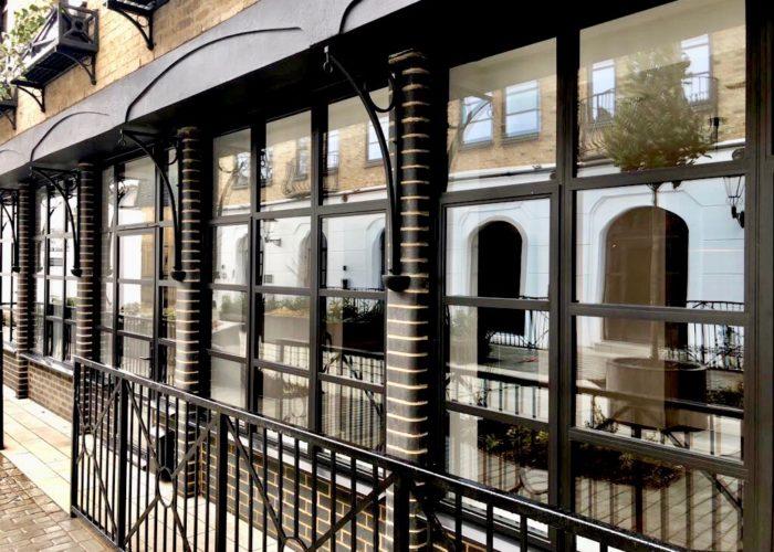 Crittall Steel Windows London Design Installation Art Deco Shower Screen Room Dividers
