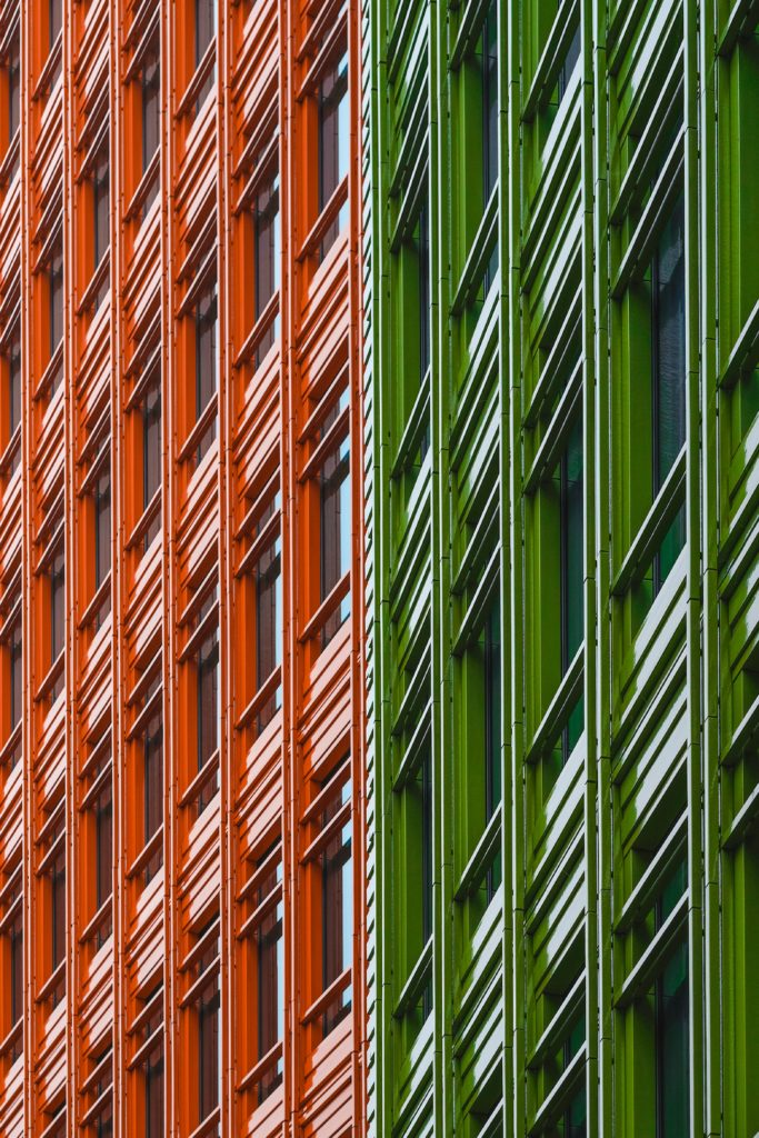 Colour Window Frames Aluminium London Paint Alternative Powder Coated Photo by Craig Whitehead on Unsplash