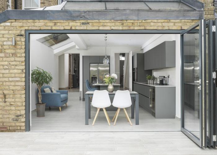 Schuco Doors London Bifold Double Glazed Patio Conservatory Replacement Door Garden External Internal Home Commercial