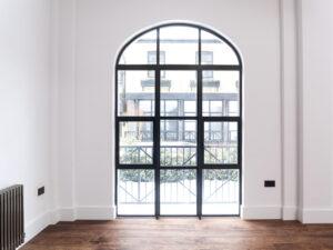 London Steel Domestic Room Dividers – Steel Framed Internal Doors Made to Measure