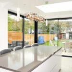 kicthen sliding doors London aluminium bi fold windows